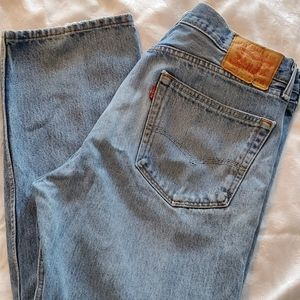 Levi's Mom Jeans. 505. Sz. 36x32. High Waisted.